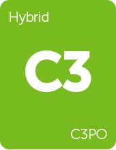 Leafly C3PO cannabis strain tile