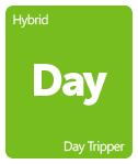 Leafly Day Tripper cannabis strain tile