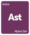 Leafly Alpine Star cannabis strain tile