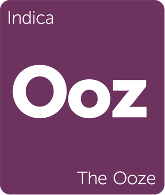 Leafly The Ooze indica cannabis strain tile