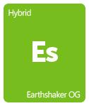 Leafly Earthshaker OG cannabis strain tile