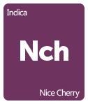 Leafly Nice Cherry cannabis strain tile