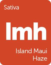 Leafly Island Maui Haze cannabis strain tile