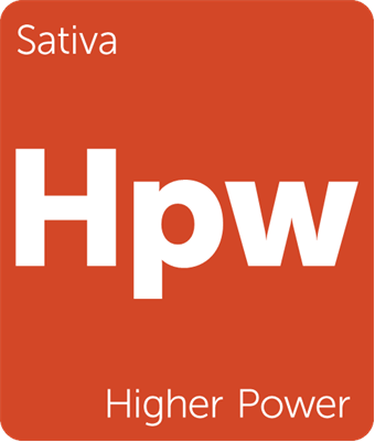Leafly HIgher Power sativa cannabis strain tile