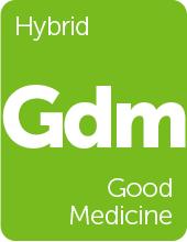 Leafly Good Medicine cannabis strain tile