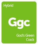 Leafly God's Green Crack cannabis strain tile
