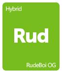 Leafly RudeBoi OG cannabis strain tile