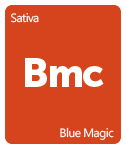 Leafly Blue Magic cannabis strain tile