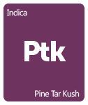Leafly Pine Tar Kush cannabis strain tile