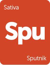 Leafly Sputnik cannabis strain tile