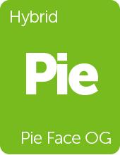 Leafly Pie Face OG cannabis strain tile