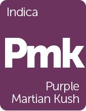 Leafly Purple Martian Kush cannabis strain tile