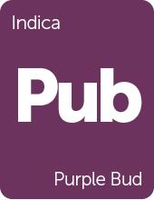 Leafly Purple Bud cannabis strain tile