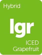 Leafly ICED Grapefruit cannabis strain tile