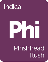 Leafly Phishhead Kush cannabis strain tile