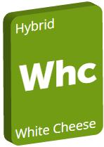 Leafly White Cheese cannabis strain tile