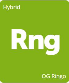 Leafly OG Ringo cannabis strain tile