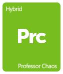 Leafly Professor Chaos cannabis strain tile