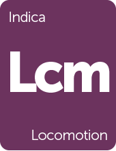 Leafly Locomotion cannabis strain tile