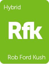 Leafly Rob Ford Kush cannabis strain tile