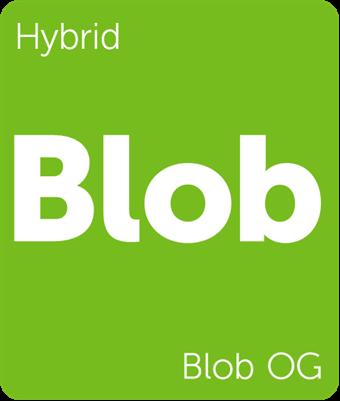 Leafly Blob OG hybrid cannabis strain tile
