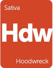 Leafly Hoodwreck sativa cannabis strain tile