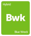 Leafly Blue Wreck cannabis strain tile
