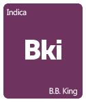 Leafly B.B. King cannabis strain tile