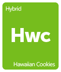 Leafly hawaiian cookies cannabis strain tile
