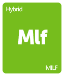 Leafly MILF cannabis strain tile