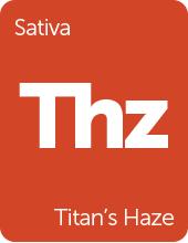Leafly Titan's Haze cannabis strain tile