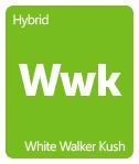 Leafly White Walker Kush cannabis strain tile