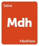Leafly MediHaze cannabis strain tile