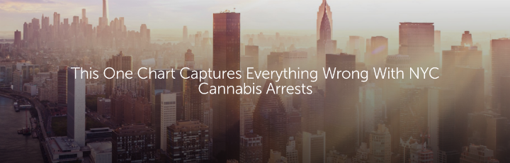 This One Chart Captures Everything Wrong With NYC Cannabis Arrests