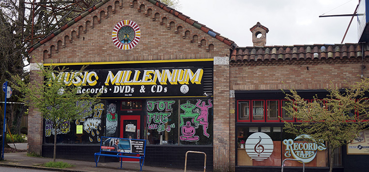 Music Millennium in Portland, Oregon