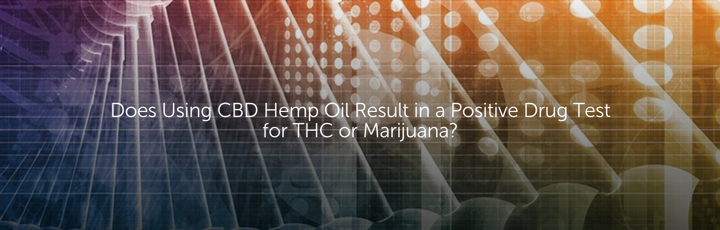 Does Using CBD Hemp Oil Result in a Positive Drug Test for THC or Marijuana?