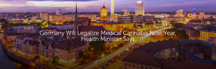 Germany Will Legalize Medical Cannabis Next Year, Health Minister Says