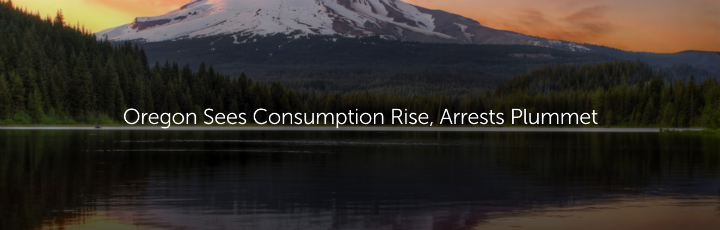 Oregon Sees Consumption Rise, Arrest Plummet