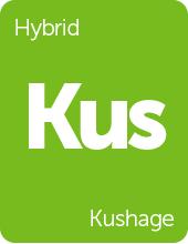 Leafly Kushage cannabis strain tile