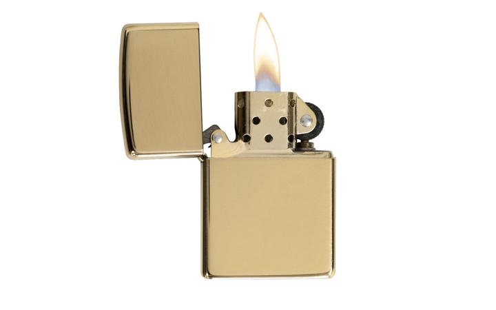 Zippo Armor Brass Lighter