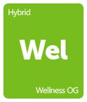 Leafly Wellness OG cannabis strain tile
