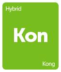 Leafly Kong cannabis strain tile