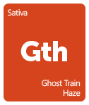 Leafly Ghost Train Haze cannabis strain tile