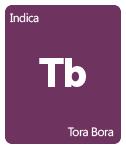 Leafly Tora Bora cannabis strain tile