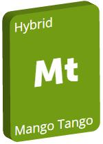 Leafly Mango Tango cannabis strain tile