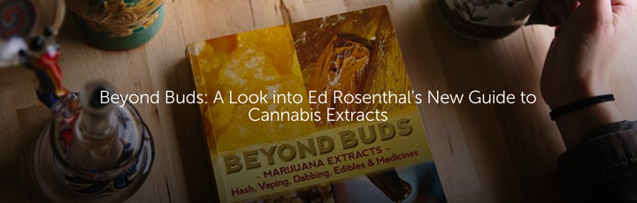 Beyond Buds: A Look into Ed Rosenthal's New Guide to Cannabis Extracts