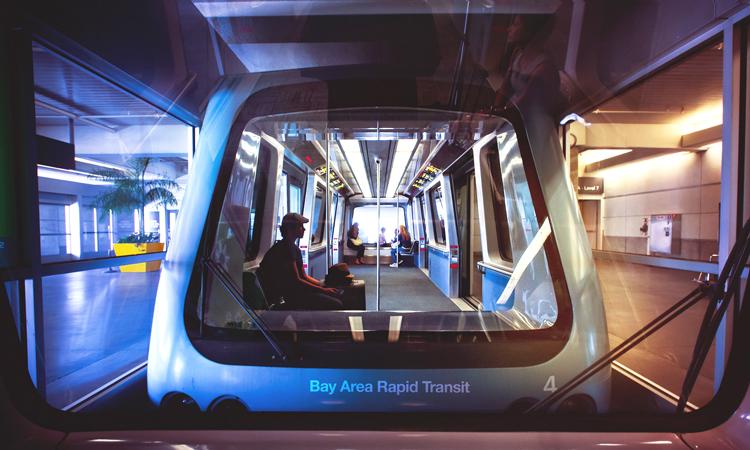 BART (Bay Area Rapid Transit) Train Car