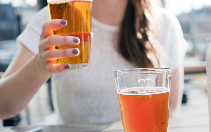 Beer at Miir in Seattle, Washington