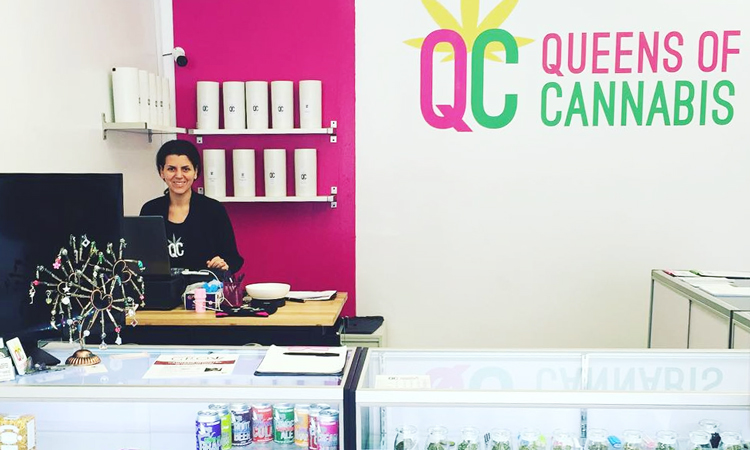 Queens of Cannabis dispensary in Toronto, Ontario