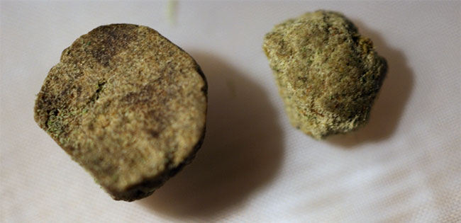 Hash, a type of cannabis concentrate